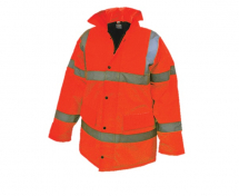 Hi-Vis Motorway Jacket Orange