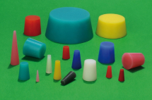 6.35x3.18x25.4,Lt. Green1000 SILICONE TAPERED PLUG