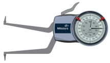 Internal Dial Caliper Gauge 60-80mm, 0,01mm