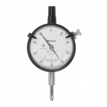 Dial Indicator, Lug Back 10mm, 0,01mm, Coaxial Rev. Cou
