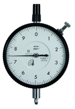 Dial Indicator, Flat Back, AGD 0,025inch, 0,0001inch, Jew. Bearing,