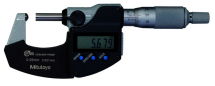 Digital Tube Micrometer, Spher Inch/Metric, 0-1inch, IP65