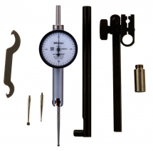 Dial Test Indicator, Horiz. Po 0,02inch, 0,0005inch, with Bracket