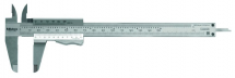 Vernier Caliper with Thumb Cla 0-150mm/0-6inch, 0,02mm, Metric/I