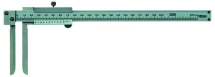 Vernier Knife-Edge Caliper 10-200mm, 0,05mm, Metric