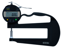 ABS Digital Thickness Gauge Inch/Metric, 0-.4inch, .0005inch, 12