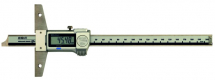 Digital ABS Depth Gauge, IP67 Inch/Metric, 0-12inch/0-300mm