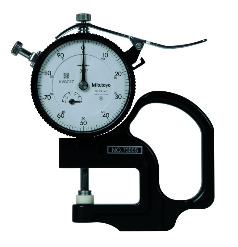 Dial Thickness Gauge .4inch .001inch/1.2inch Throat