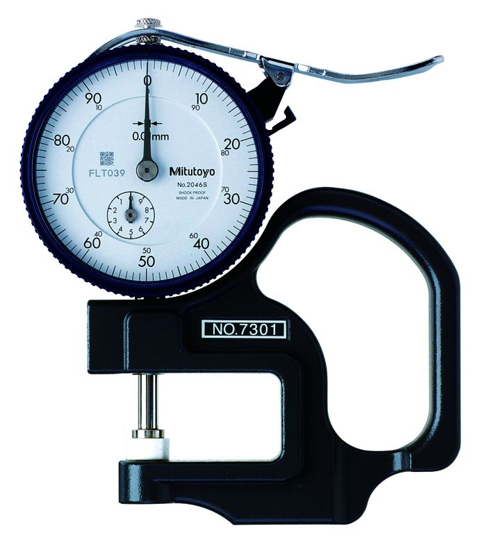 Dial Thickness Gauge 10mm .01mm/30mm Throat