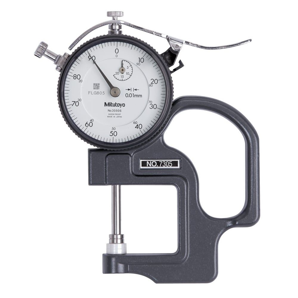 Dial Thickness Gauge 20mm .01mm/30mm Throat