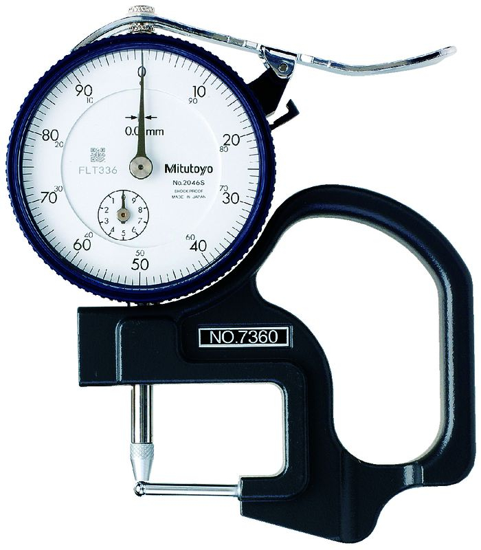 Dial Pipe Gauge 10mm 0-100 .01mm