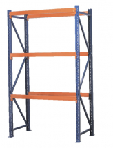 Shelving Unit with 3 Beam Sets 900kg Capacity Per Level