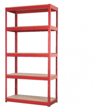 Racking Unit with 5 Shelves 35 350kg Capacity Per Level