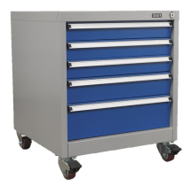 Mobile Industrial Cabinet 5 Dr