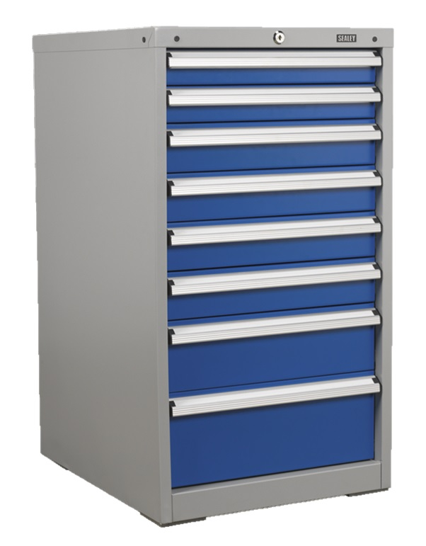 Industrial Cabinet 8 Drawer