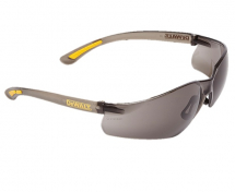 Contractor Pro ToughCoat Safe ty Glasses - Smoke