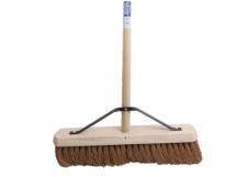 FAI/FULL SOFT COCO BROOM 18IN + HANDLE & STAY