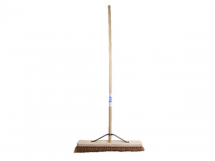 FAI/FULL SOFT COCO BROOM 24IN + HANDLE & STAY