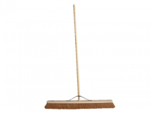 FAI/FULL SOFT COCO BROOM 36IN, HANDLE & STAY