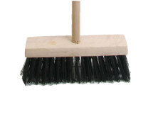 FAI/FULL BROOM PVC 13IN HEAD WITH HANDLE