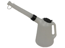 LUMATIC POLY OIL MEASURE JUG WITH SPOUT 1L