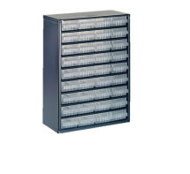 RAACO 936-01 36 DRAWER METAL CABINET