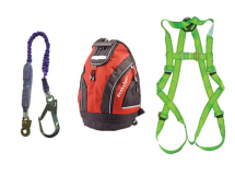 SCAN FALL ARREST SCAFFOLDERS KIT C/W RUCKSACK