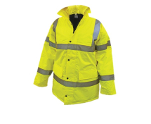 Hi-Vis Motorway Jacket Yellow - XXL (52in)