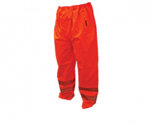 SCAN HI-VIS MOTORWAY TROUSER ORANGE - LARGE