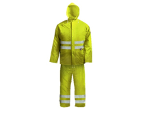 Hi-Visibility Rain Suit Yellow - XXL (45-49in)