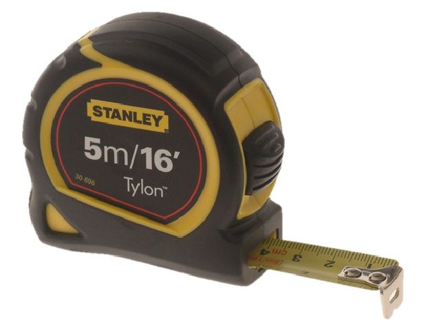 STANLEY POCKET TAPE 5M/16FT 19MM CARDED 0-30-696