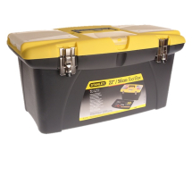 STANLEY JUMBO TOOLBOX 22IN + TRAY 1-92-908