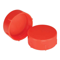 Red LDPE Threaded Caps